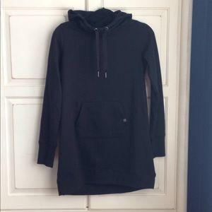 Gaiam hooded sweatshirt tunic